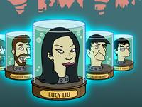 Futurama Jar Heads