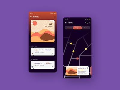 DailyUI  079 Itinerary designinspiration webdesign uiux design daily 100 challenge uidesign dailyuichallenge dailyui ui figma