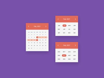 DailyUI  080 Date Picker designinspiration webdesign uiux design daily 100 challenge uidesign dailyuichallenge dailyui ui figma