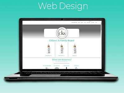 CKSoul Cannabis Partnership Webpage partner business product page ui ecommerce design cannabis design cannabis copywriting webpage design web design photoshop wordpress