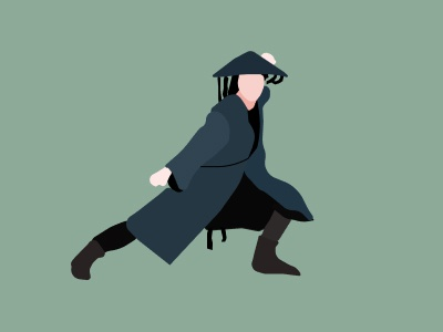 Ninja dribbbleweeklywarmup flat minimal branding vector ux design ui illustration