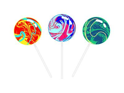 Lollipops colorful colours lolipop