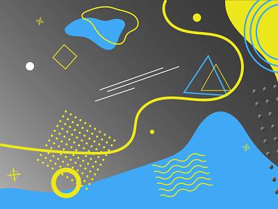 abstract background branding minimal ux flat typography illustrator illustration graphic design design art