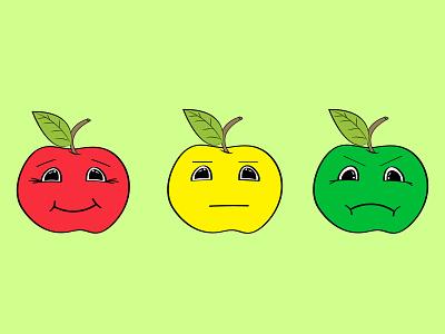 flat colored fruits branding ux animation flat typography illustrator illustration graphic design design art