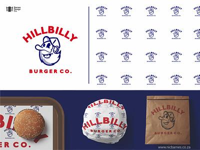 Hillbilly Burger Co. Logo Design logo branding design logodesign logo designer
