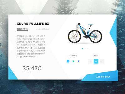 Bike e-commerce product page shopping add to cart product page shopping cart e-shop shop e-commerce