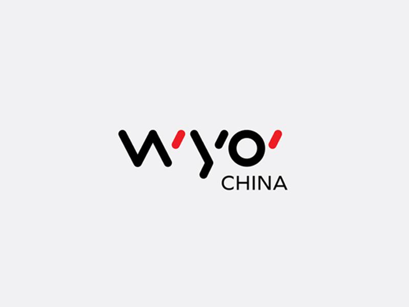 Wyo China Logo china red identity stationery business marketing logo branding