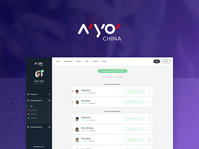 NYO CHINA - Audition music platform talent tuition orchestra instruments admin judgement study student applicant dashboard platform music