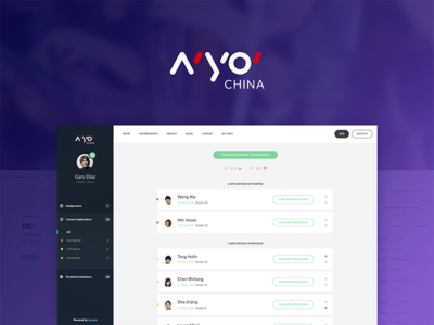 NYO CHINA - Audition music platform