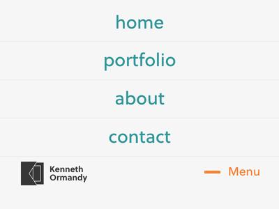 —Menu responsive navigation html css portfolio blog site