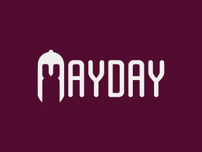 MayDay! MayDay! MayDay! miniature royal battle convention logo logotype mayday