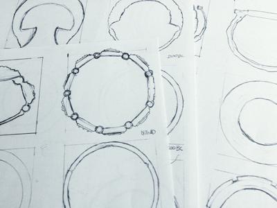 Brachile paper sketch sketches scan