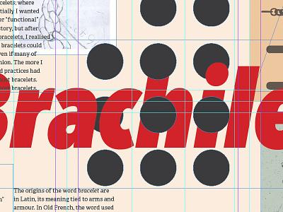 Big Brachile vector type avenir condensed layout poster grid guides avenir next avenir next condensed