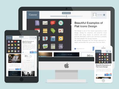 Gunosy Redesign Concept web web design website ui photoshop flat responsive