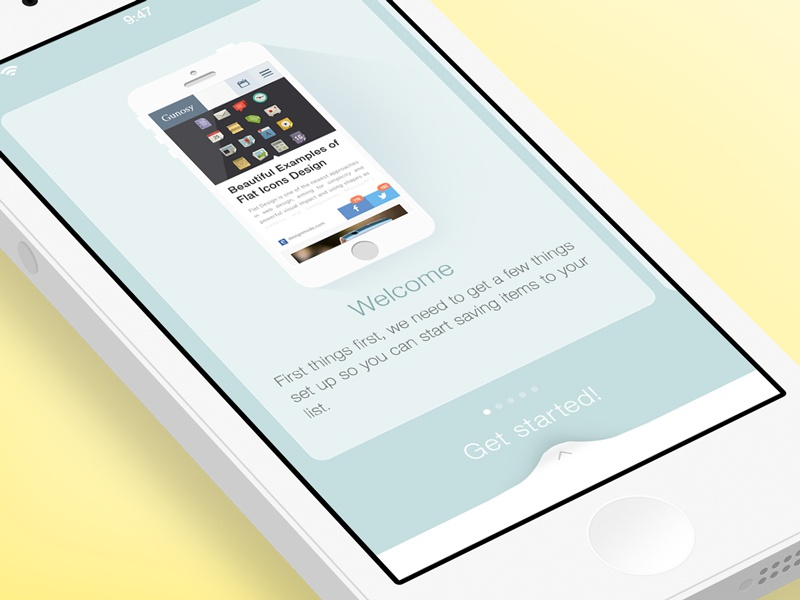 App Tutorial Concept photoshop iphone ios7 tutorial concept flat app ui