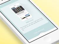 App Tutorial Concept