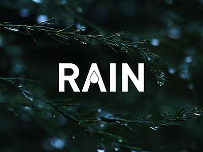 Rain Logo rain logo rain logo graphic design ui