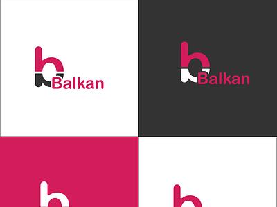 Balkan Logo vector illustrator flat icon illustration design animation branding motion graphics logo graphic design 3d ui