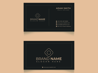 Business Cards motion graphics 3d animation ui vector branding illustrator flat illustration icon design logo graphic design business card