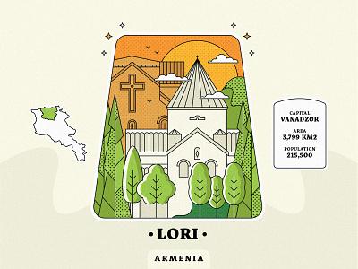 Lori / Armenia vanadzor artwork church design landscape village town come to armenia armenian church peace for armenia architecture armenia strong armenia armenian province lineart design graphicdesign illustration