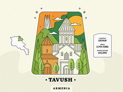 Tavush / Armenia dilijan town village landscape armenian province come to armenia peace for armenia architecture armenia strong church design armenian church ijevan tavush armenia lineart artwork vector design graphicdesign illustration