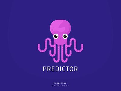 Predictor artwork branding octopus logo octopus predictor art direction armenia logotype logodesign logo design graphicdesign illustration