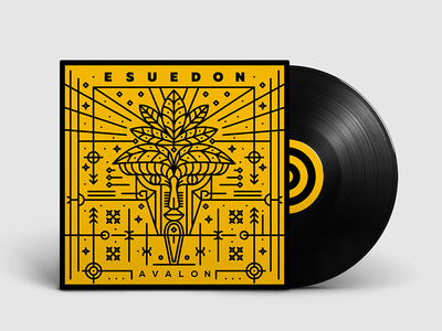 Cover design for armenian techno group Esuedon