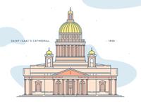 Saint Isaac's Cathedral | Illustration