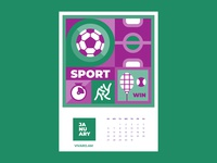Calendar for Vivaro | January