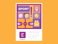 Calendar for Vivaro | February