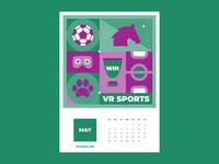 Calendar for Vivaro | May