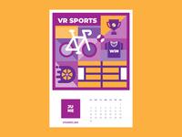 Calendar for Vivaro | June