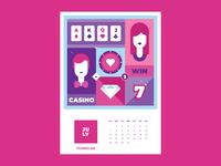 Calendar for Vivaro | July