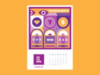 Calendar for Vivaro | October