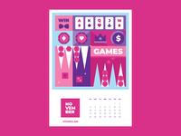 Calendar for Vivaro | November