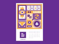 Calendar for Vivaro | December