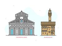 Florence | line illustrations