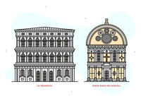 Venice | line illustrations