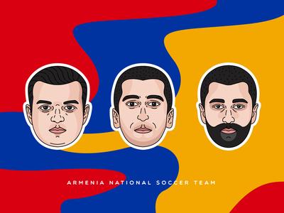 Armenia national soccer team | Stickers