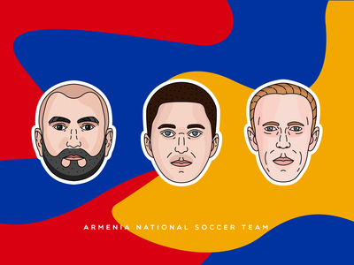 Armenia national soccer team | Stickers