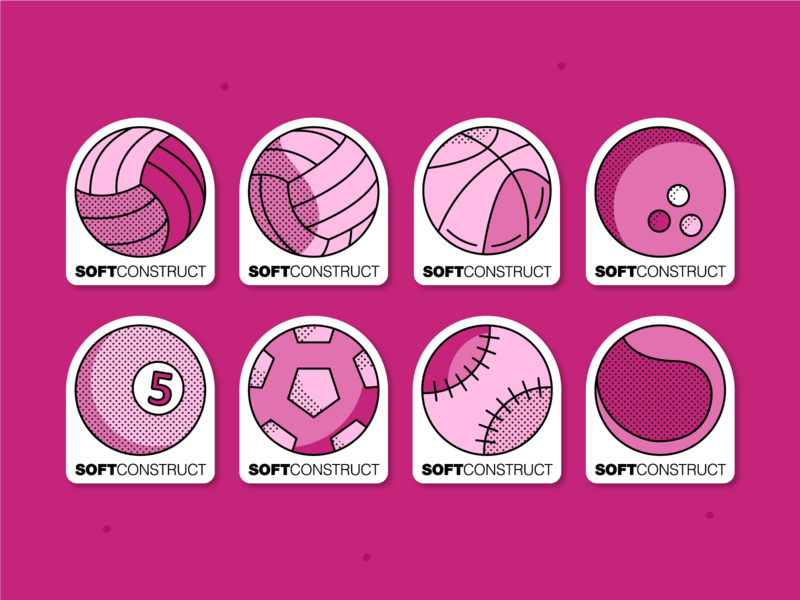 Sport stickers sticker design icons vector art graphicdesign tennis ball tennis baseball volleyball football basketball ball balls sport sport stickers stickers sticker