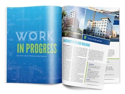 Real Estate Development • CBT April 2016 Feature development print business columbia business times cbt real estate magazine publication editorial