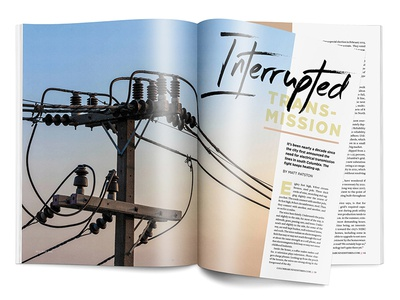 Interrupted Transmission • CBT June 2016 Feature business columbia business times cbt infrastructure magazine publication editorial