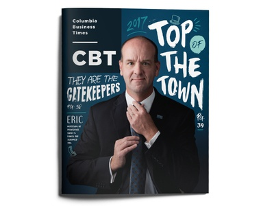 Top of the Town 2017 •CBT b2b top of the town tott cover layout publication missouri columbia business editorial columbia business times cbt