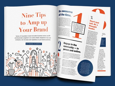 Brand Tips • CBT October 2017 Feature branding columbia business times cbt culture business magazine publication editorial