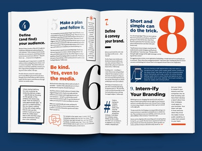 Brand Tips Interior Spread • CBT October 2017 Feature branding columbia business times cbt culture business media magazine publication editorial