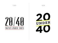 20 Under 40 - Logo Redesign