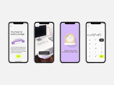 REVEL App UI iphone mobile calculator math app design ux technology ui asis identity argentina branding