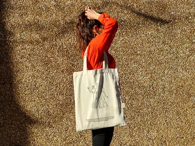 GEMA Tote bag course mockup vintage tote bag fashion illustration design logo print asis identity argentina branding