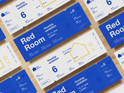 RedRoom Tickets asis event branding housing exhibition tickets